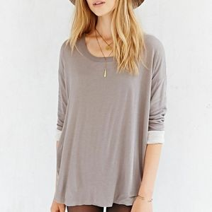Urban Outfitters BDG Knit Layered Boyfriend Top